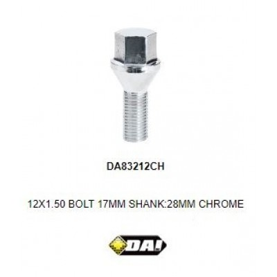 BMW Chrome Wheel Stud  28mm/30mm