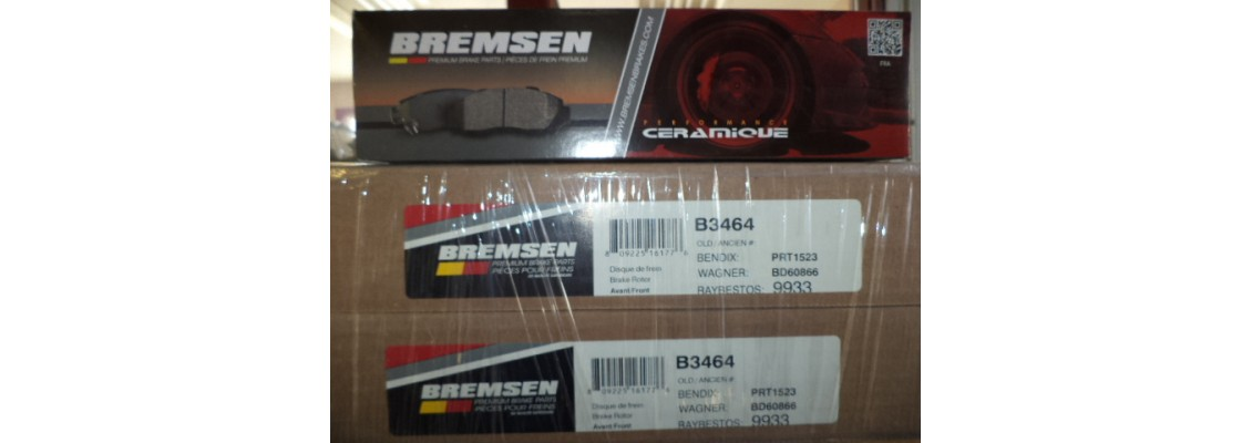 Bremsen Rotors And Pads For All car