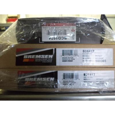 Bremsen Front Brake Set For Kia Spectra/Spectra5