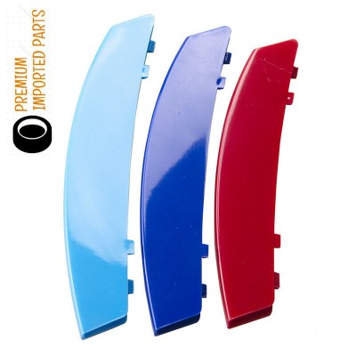 BMW 11 Bars Kidney Grille Color Cover Clips for 5 Series E60 E61 M5 03-10