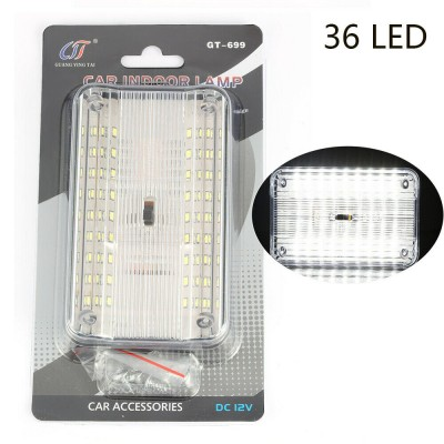 12Volts caravan camping/Car-Truck 36 LED Indoor Roof Ceiling Interior Lamp Dome Light