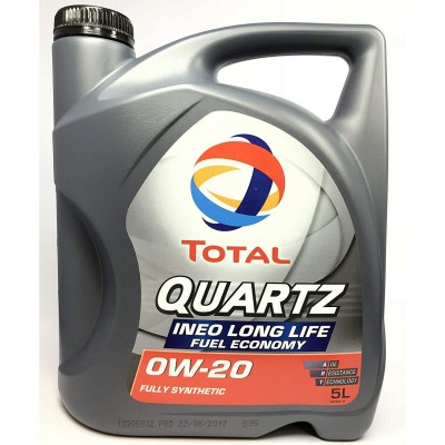 Total Quartz 0w20 Ineo 5L with the new standards VW 508.00/509.00