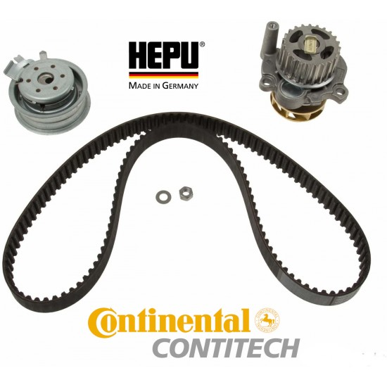 VW Engine Timing Belt Kit with Water Pump