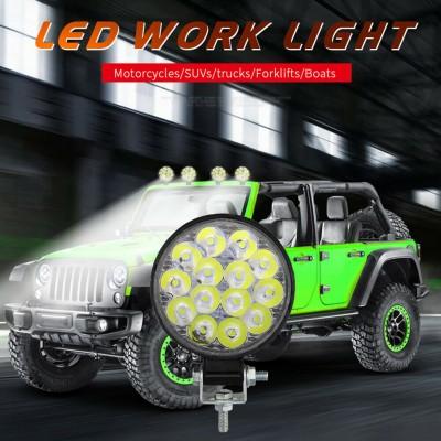 LED Work Light SPOT Lights For Truck Off Road Tractor ATV 12V   42W