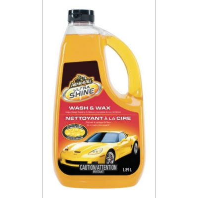 Armor All Ultra Shine Wash & Wax 1.89L