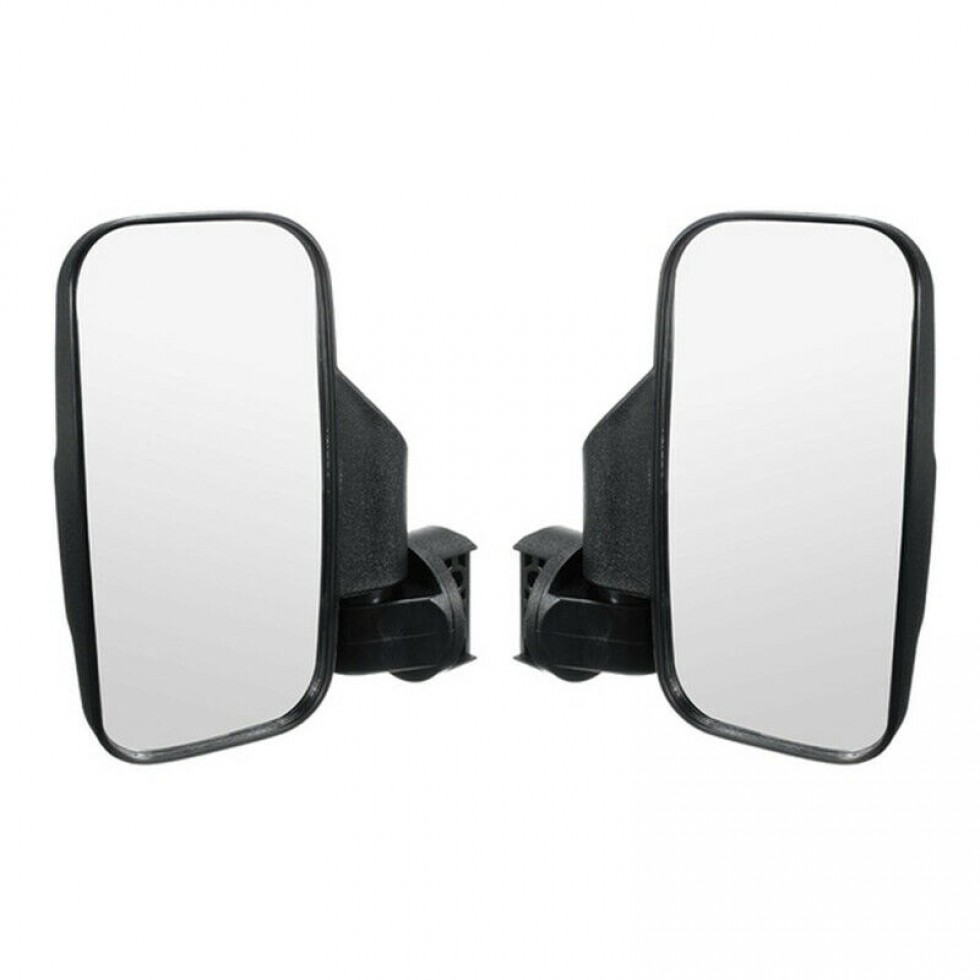 "UTV ATV Side Mirror Rear View 1.75/"" 2 Roll Bar Cage For Polaris RZR Yamaha Rhino"