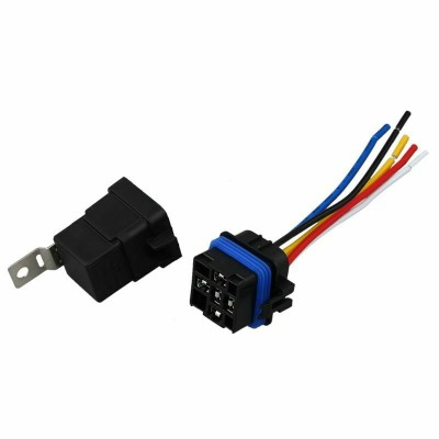 40 Amp Waterproof Relay Switch Harness Set - 12V DC 5-Pin